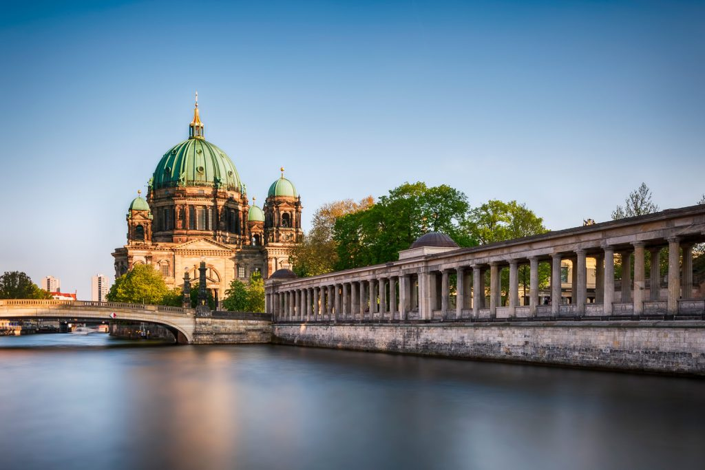 Berliner Dom Altes Museum Spreepromenade Spree Spring sunnyday BerlinCamera