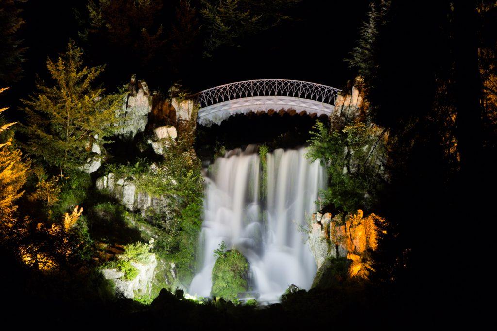 lg Waterfall Bergpark Wilhelmshöhe Kassel BerlinCamera