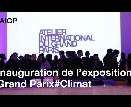 Soirée dinauguration de lexposition Grand Paris